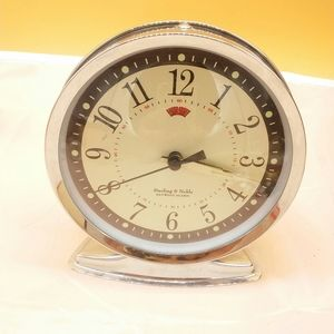 Sterling and noble wind up alarm clock